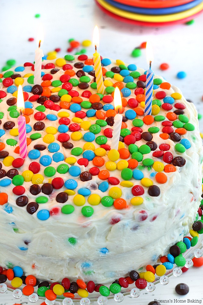 Surprise birthday cake recipe