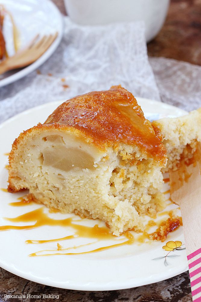 caramel apple pie cake recipe 3