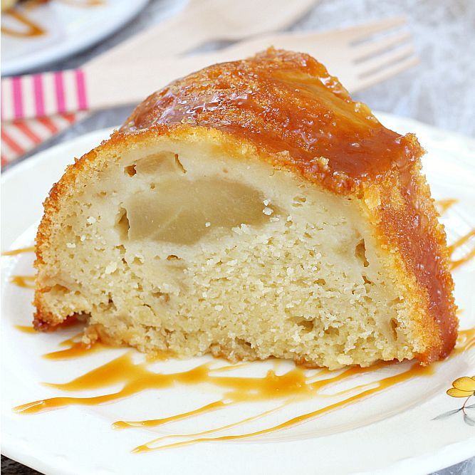 Apple Pie Cake Recipe Girl