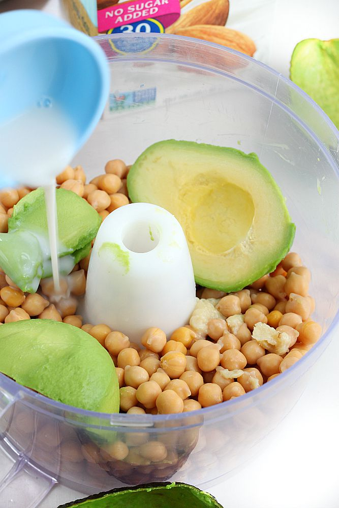 Looking for a quick and easy dip recipe for your game night everyone will love? Look no further! This avocado hummus is not only delicious but also comes together in 5 minutes!