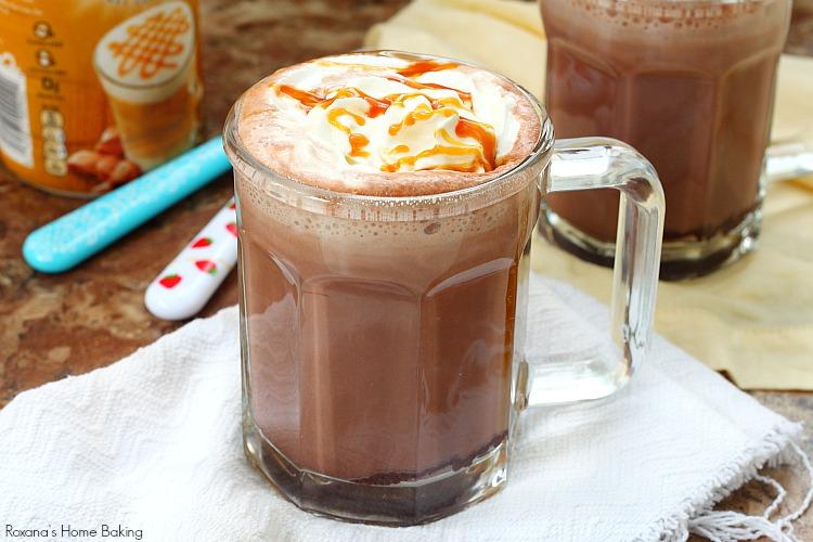 Caramel hot cocoa - a trEATs affair