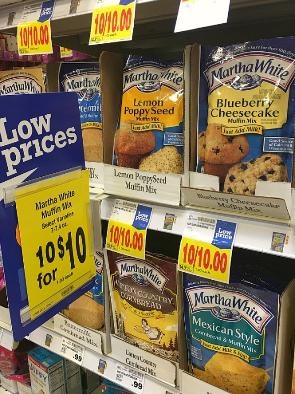 Martha White® Baking mixes at Kroger 1