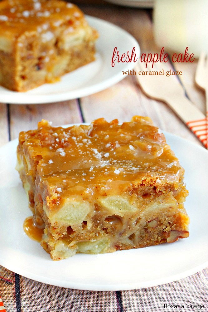 Super Moist Apple Cake