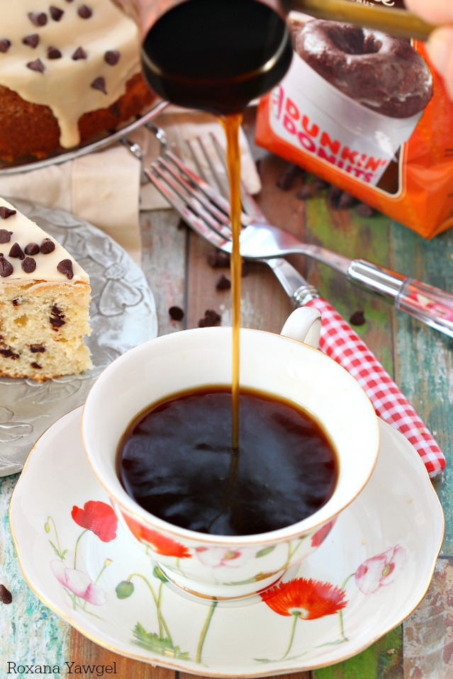 chocolate chip coffee cake with coffee icing recipe 3