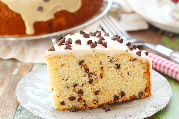 Chocolate Chip Coffee Cake With Coffee Icing Recipe