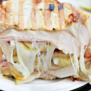 Cordon bleu chicken panini