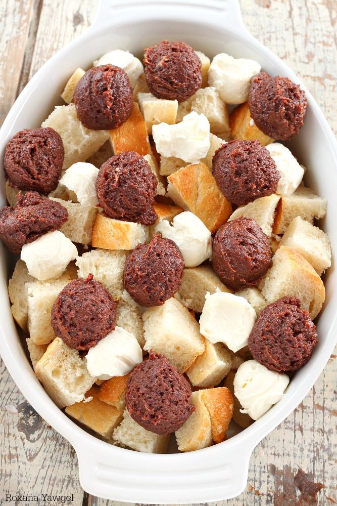 berries chocolate cream cheese french toast recipe 6