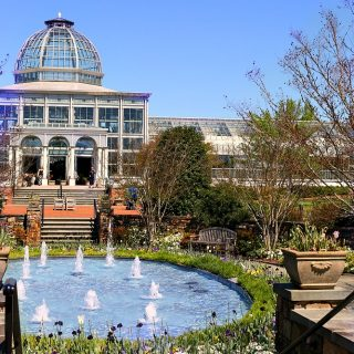 Spring at Lewis Ginter botanical garden